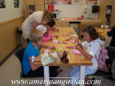 Girls doing their crafts copy