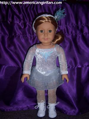Mia's Silver Skate Dress