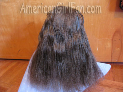 Wet and brushed out