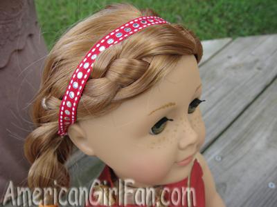 Headband on Mia