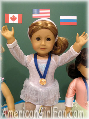 American Girl Olympics Gold Medal