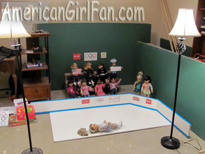 Behind the scenes American Girl Olympics