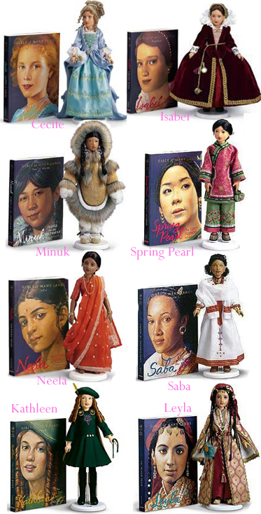 The Girls of Many Lands Dolls and books
