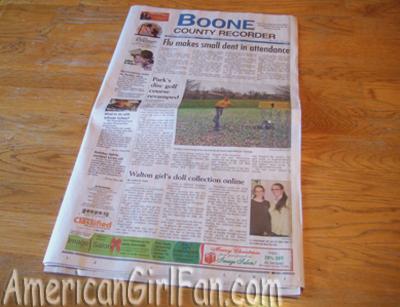 Newspaper in D 2