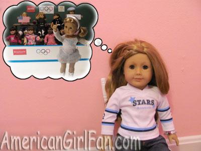 American Girl Olympic Daydream