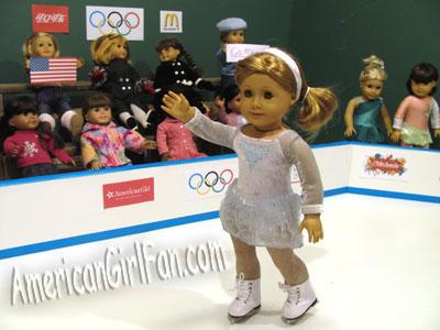 American Girl Olympic Ice Skating