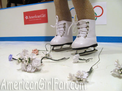 American Girl Olympic Flowers