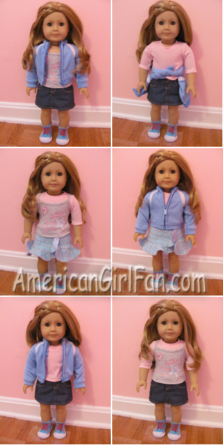American Girl Mix and Match Outfits