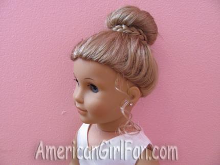 Tremendous American Girl Doll Hairstyles For Easter Americangirlfan Short Hairstyles Gunalazisus