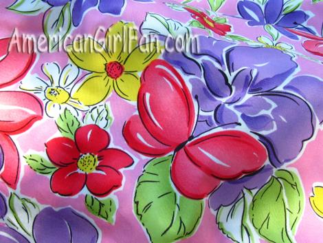 The pretty fabric