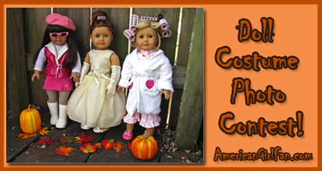 Doll Costume Contest Banner