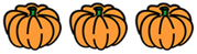 Small pumpkin divider