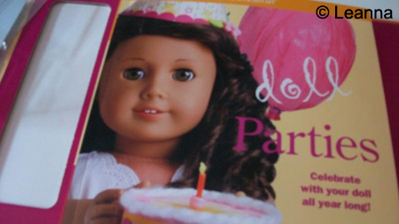 Doll Parties Book