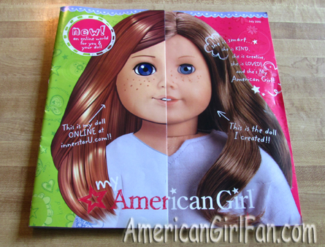 American Girl July Catalog Cover