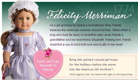 Farewell Felicity
