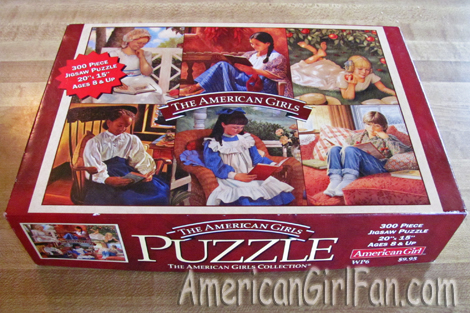 American Girls Puzzle box