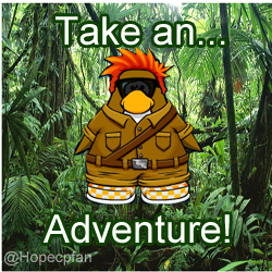 Take an adventure icon boy