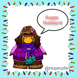 Club Penguin Holiday Icon