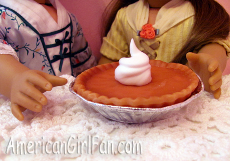Pumpkin Pie Close Up 1