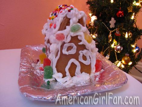 American Girl Dolls GingerBread house