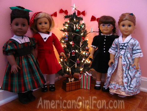 Merry Christmas from my Dolls