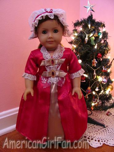 Felicity wearing Gala Gown2