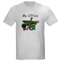 My Garden is my Office Cotton Tee