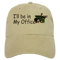 I'll be in my office Garden Cap