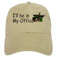 I'll be in my office Garden Cap