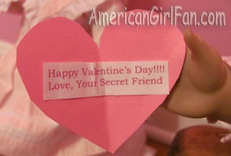 Mystery valentine message