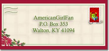 Christmas Envelope for Post smaller