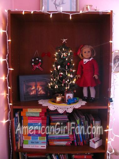 American Girl Doll BookCase Scene