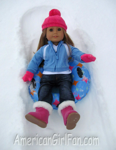 Mia Snow Tubing