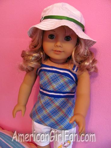 Lanie Garden outfit closeup