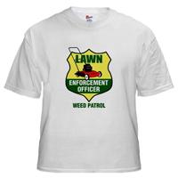 Lawn Enforcement Officer Tee
