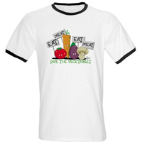 Save The Veggies! Organic Cotton Tee