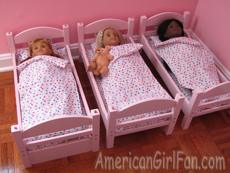 Triple Bunk Bed for Dolls