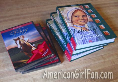 AG Felicity Giveaway Books and Movies