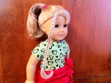 Your Favorite American Girl Doll Hairstyle Gallery