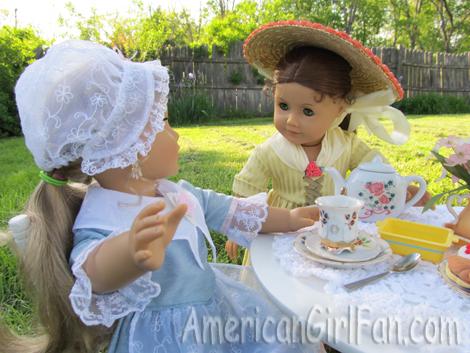 Do you want some tea Elizabeth