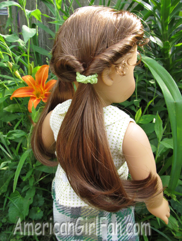 Miraculous Summer American Girl Doll Hairstyles Americangirlfan Short Hairstyles Gunalazisus