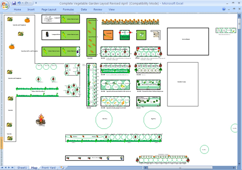GardenDesk Garden Planning On Paper Or With An Excel Spreadsheet