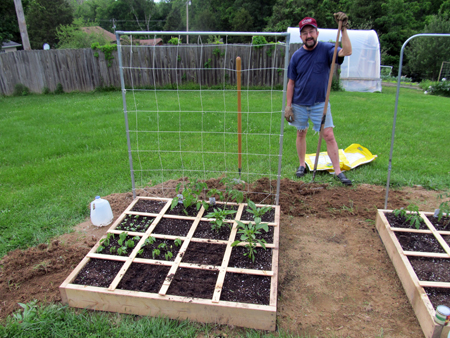 Gardendesk Square Foot Gardening Book Converts Another
