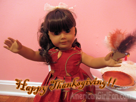 Happy Thanksgiving from Samantha
