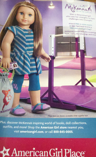 American Girl Mckenna Girl of the Year 2012 Doll