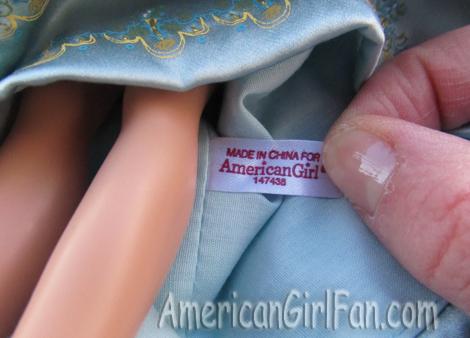 American girl tag