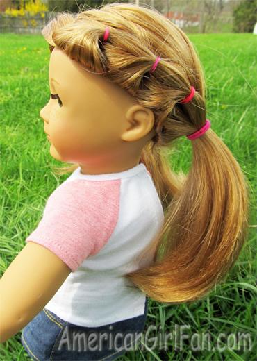 Fantastic Hairstyles For Layered American Girl Doll Hair Americangirlfan Short Hairstyles Gunalazisus
