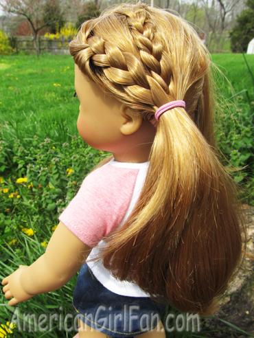 Astonishing Hairstyles For Layered American Girl Doll Hair Americangirlfan Short Hairstyles Gunalazisus