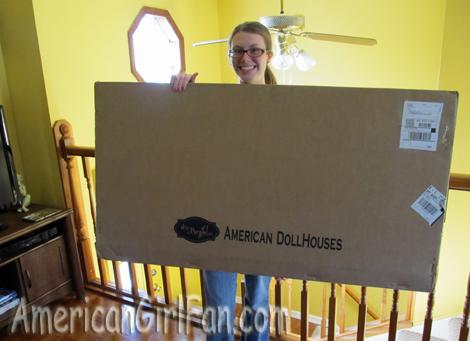 Me with huge box