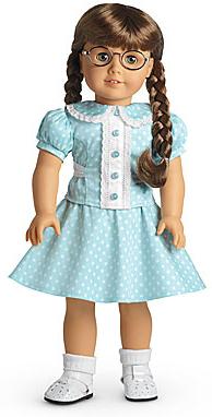 Molly's Polka Dot Outfit